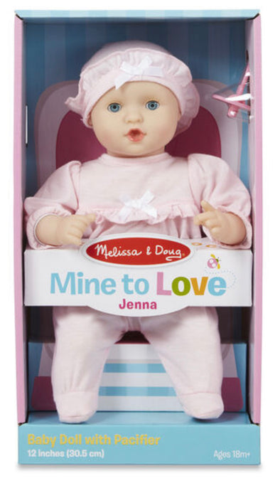 Preorder- Melissa and Doug- Mine to Love Baby Doll