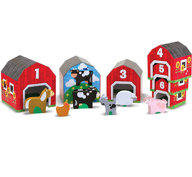 Melissa and Doug - Nesting & Sorting Barns & Animals