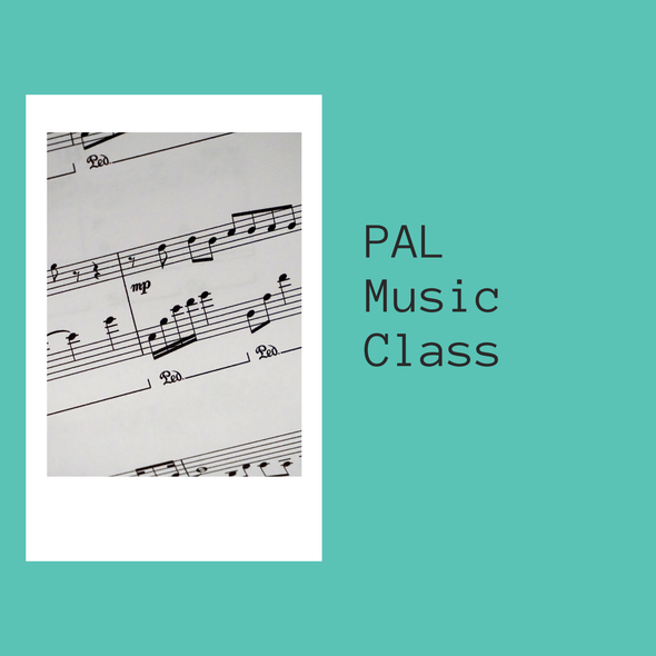 Virtual Pal Music Class- June 4-25th