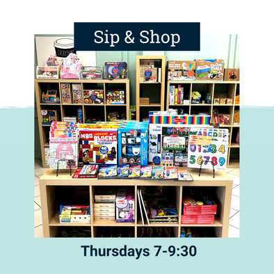 Sip and Shop! Thursday's- November