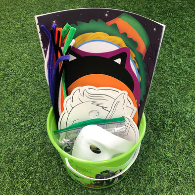 Halloween Craft Bucket