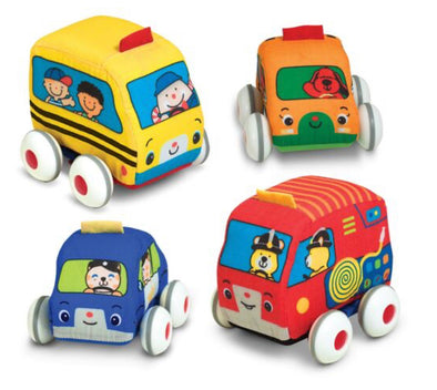Melissa and Doug - Pull Back Town Vehicles