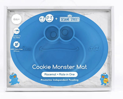 EZPZ Limited Edition Cookie Monster Mat