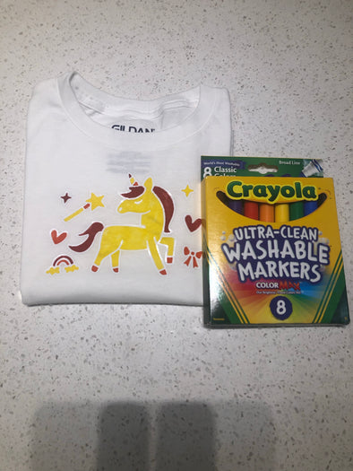PAL Colouring Shirts