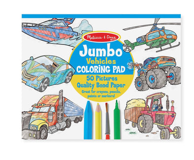 Jumbo Colouring Pad