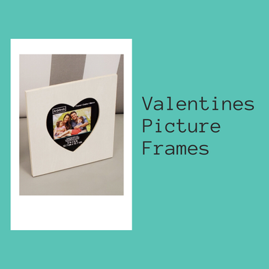 Valentines Picture Frames