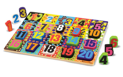 Melissa and Doug- Chunky Numbers Puzzle