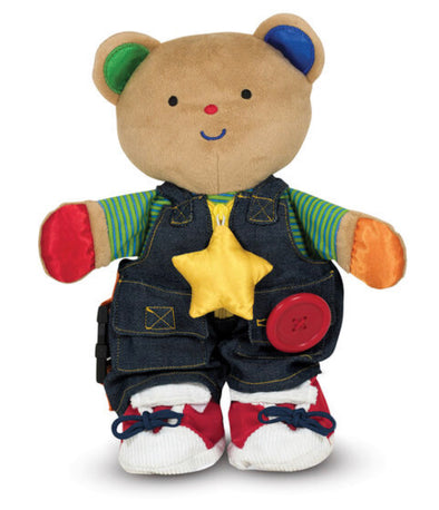 Melissa and Doug- Teddy Wear Skills Bear