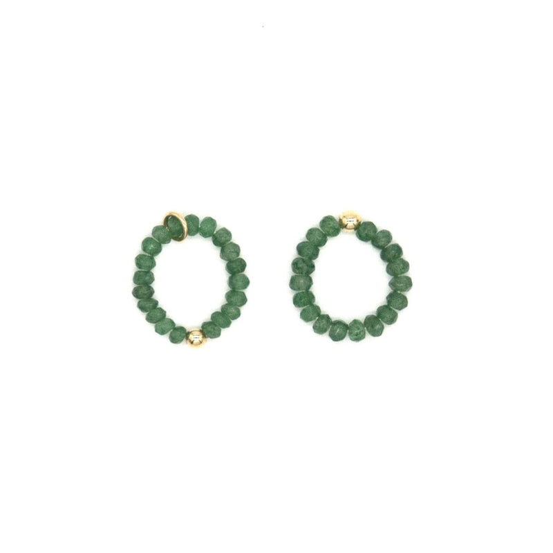 3mm Emerald Ring