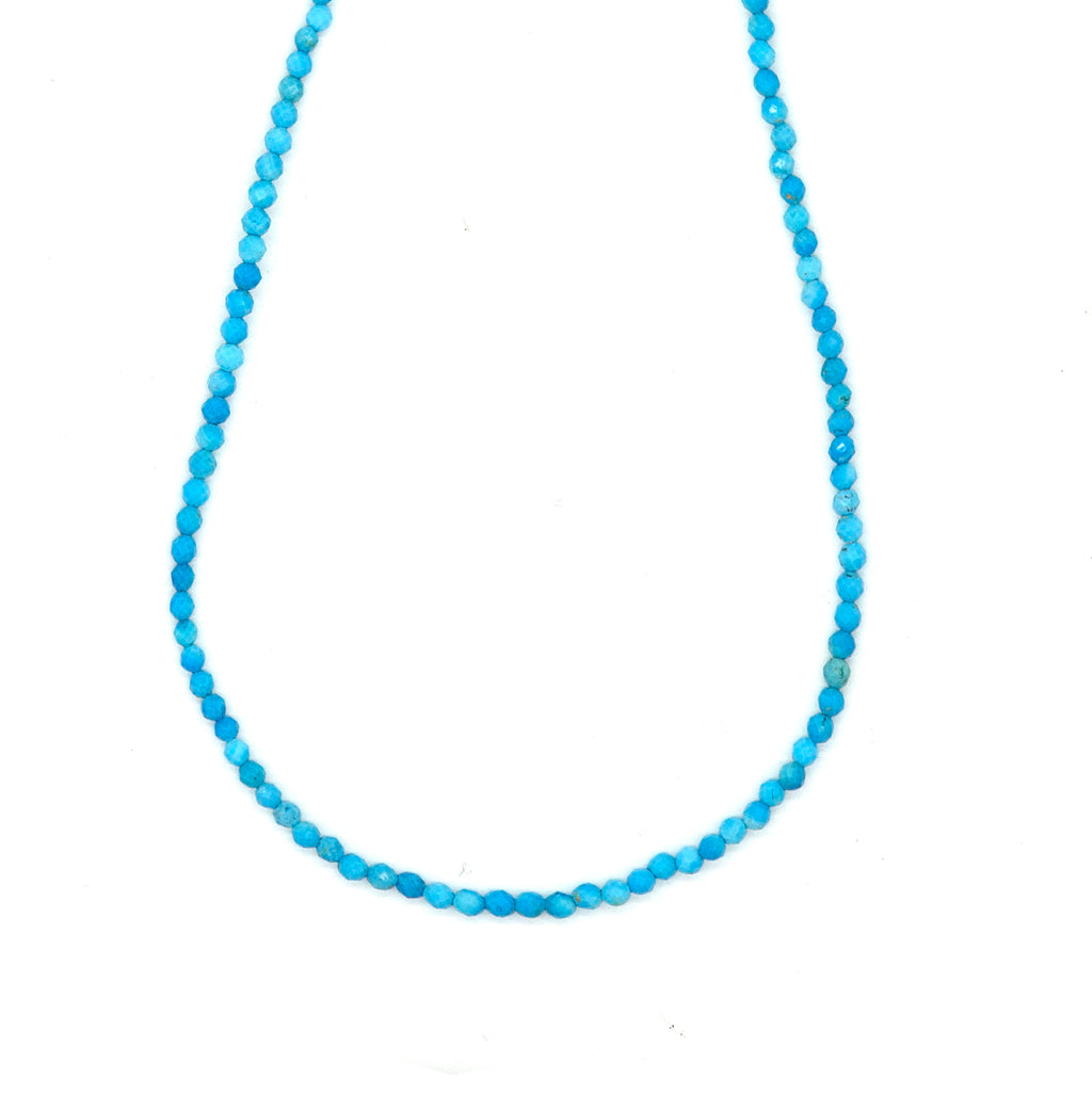 Mixed Blue Turquoise Necklace