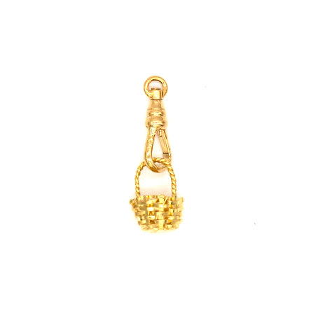 Small Basket Charm