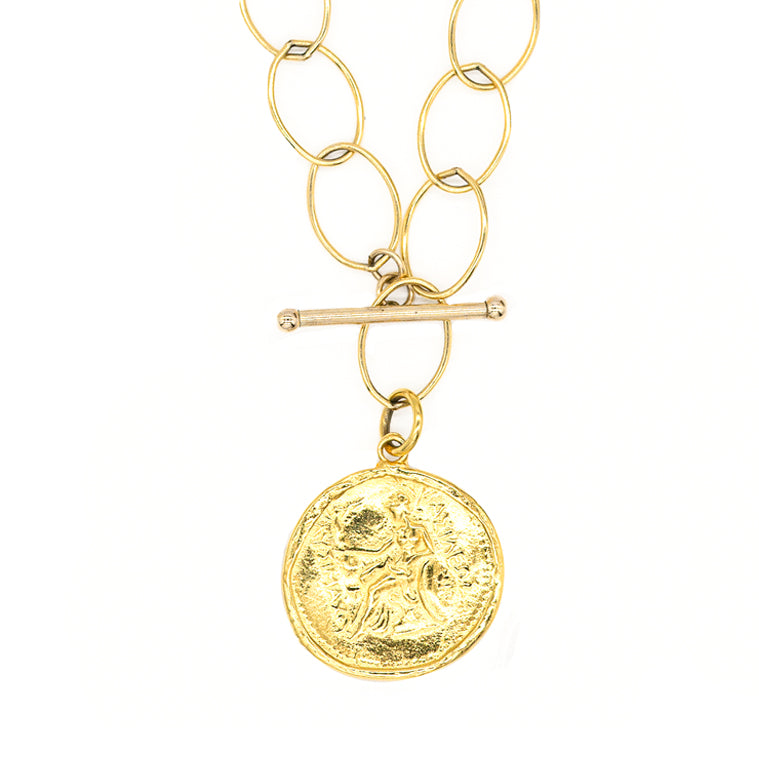 Goddess Coin Holder Necklace