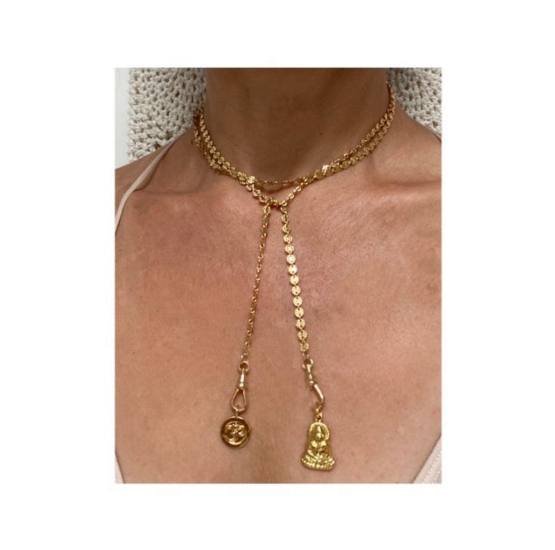The Buddha Lariet Necklace