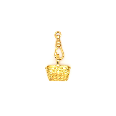 Large Basket Charm