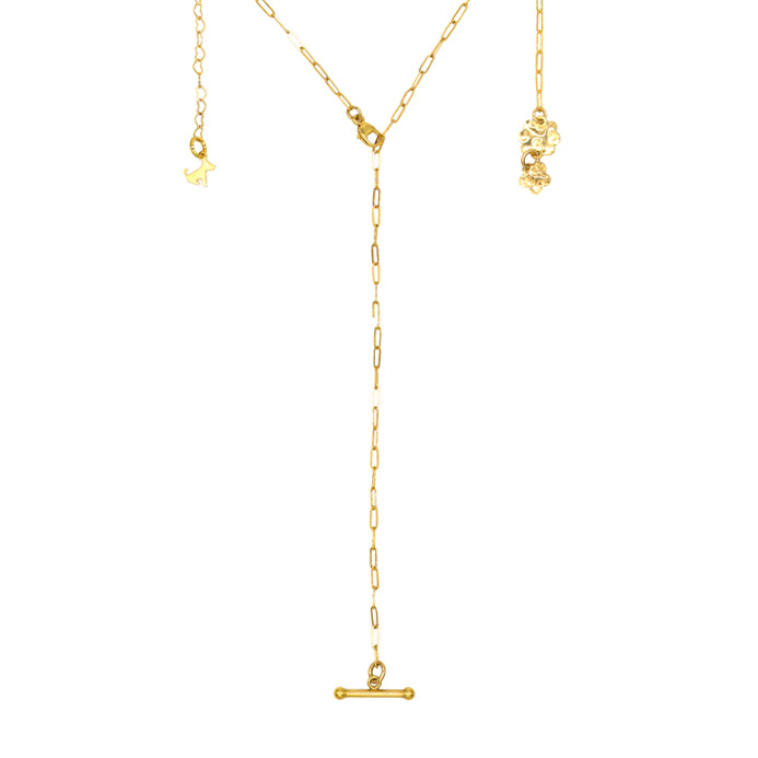 T Bar Mini Drop Necklace