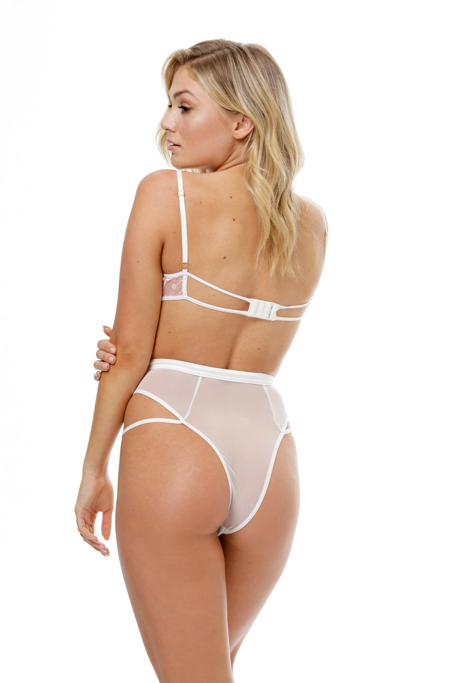Rhapsody High Waist Panties