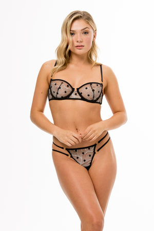 Rhapsody Night Balconette Bra