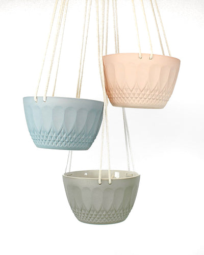 Hanging Planters by Tiny Badger Ceramics
