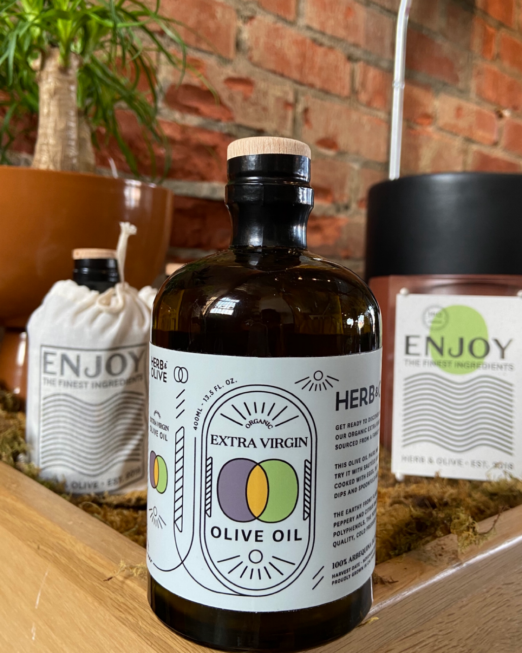 Herb&Olive Organic Extra Virgin Olive Oil