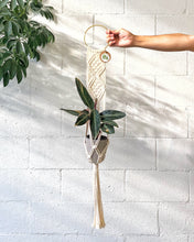 Load image into Gallery viewer, Macramé Plant Hangers by PDXhouseplants
