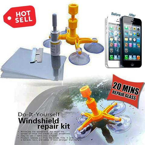 CRACKED GLASS REPAIR KIT - E-Silvar Store