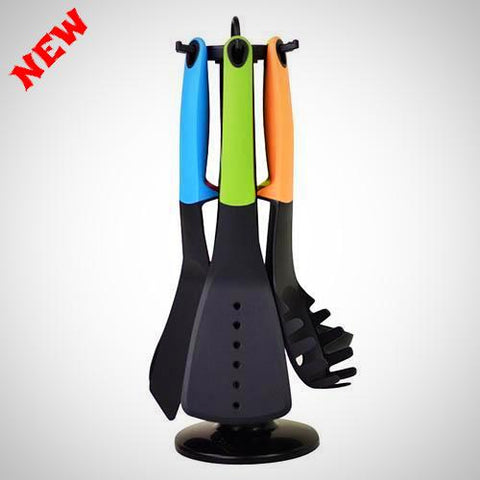 7 pcs Carousel Kitchen Utensil Tool Set - E-Silvar Store