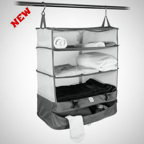 3 Layers Portable Travel Storage Rack Holder - E-Silvar Store