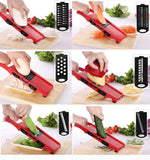 Mandoline vegetables cutter 6 in 1 - E-Silvar Store