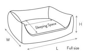 Nest Dog Bed Dimensions