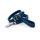 Blue ecofriendly dog collar leash set matching project blu zambezi
