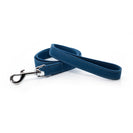 Blue ecofriendly dog leash fabric project blu zambezi