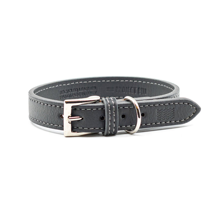 Grey Eco Friendly Dog Collar