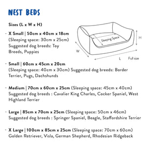 Nest Bed Size Guide