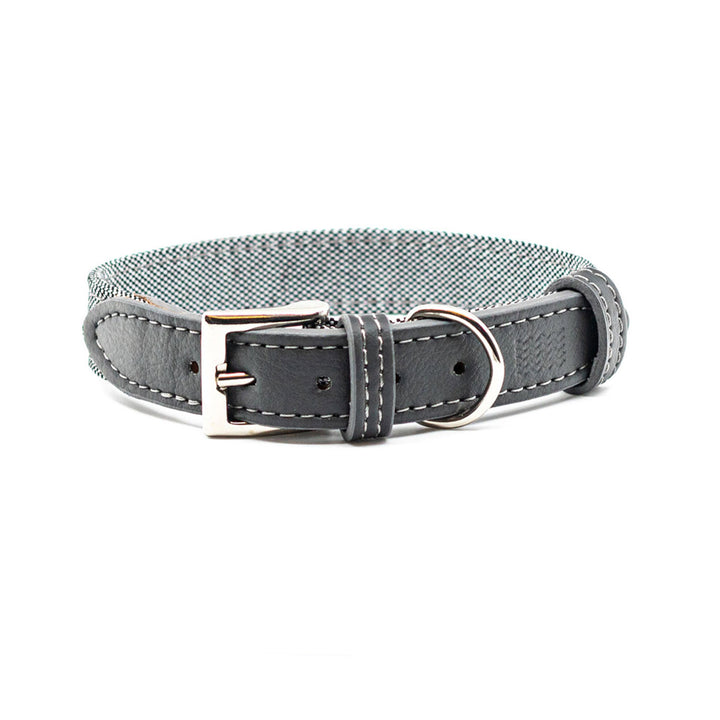 Grey Eco Dog Collar