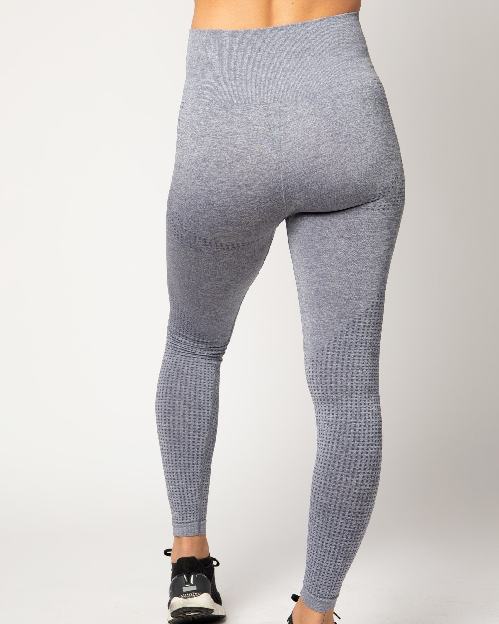 True Seamless Gray High Waisted Leggings