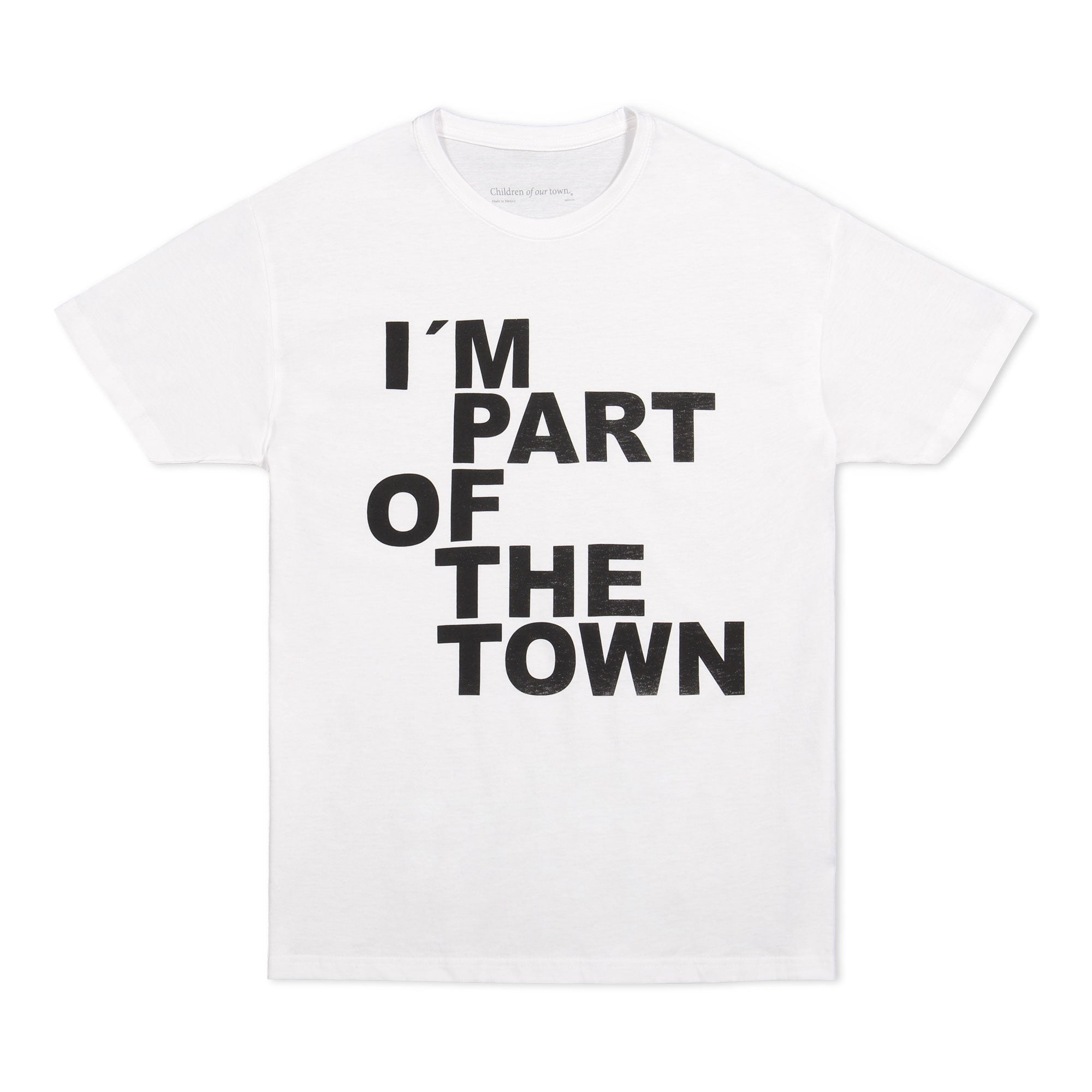 I'm part of the town
