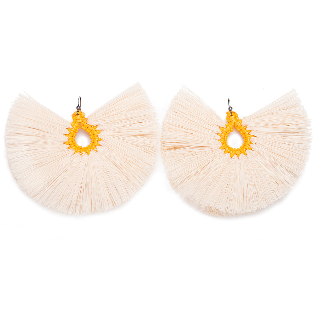 Penacho Mostaza Earrings