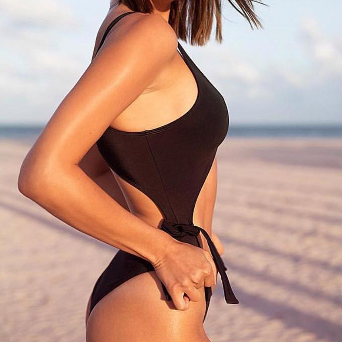 Infinity Black Swimsuit