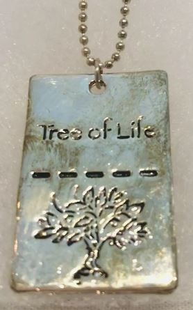 DOG TAG - TREE OF LIFE