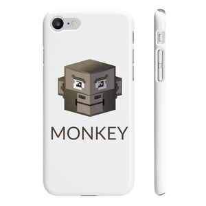 Monkey Slim Phone Cases | Crypto-Mob