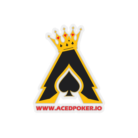 Acedpoker.io Kiss-Cut Sticker | Crypto-Mob
