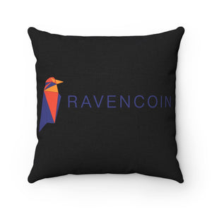 Ravencoin Pillow | Crypto-Mob