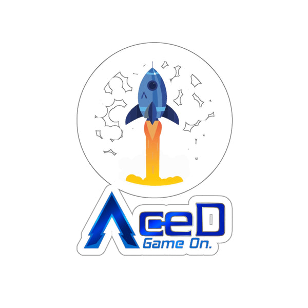 Aced Rocket Sticker | Crypto-Mob