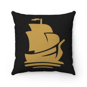 Pirate Square Pillow | Crypto-Mob