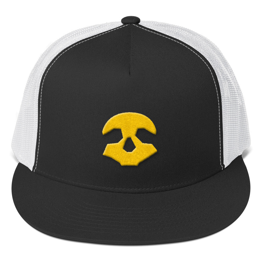 Pirate Skull Trucker Cap | Crypto-Mob