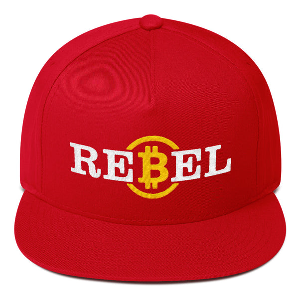 Bitcoin Rebel Hat | Crypto-Mob