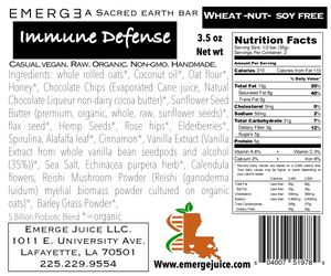 Immune Defense Superfood bar