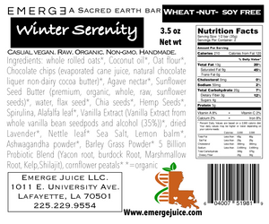 Winter Serenity Superfood bar