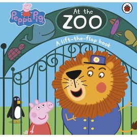 PEPPA PIG AT THE ZOO - A LIFT-THE-FLAP BOOK