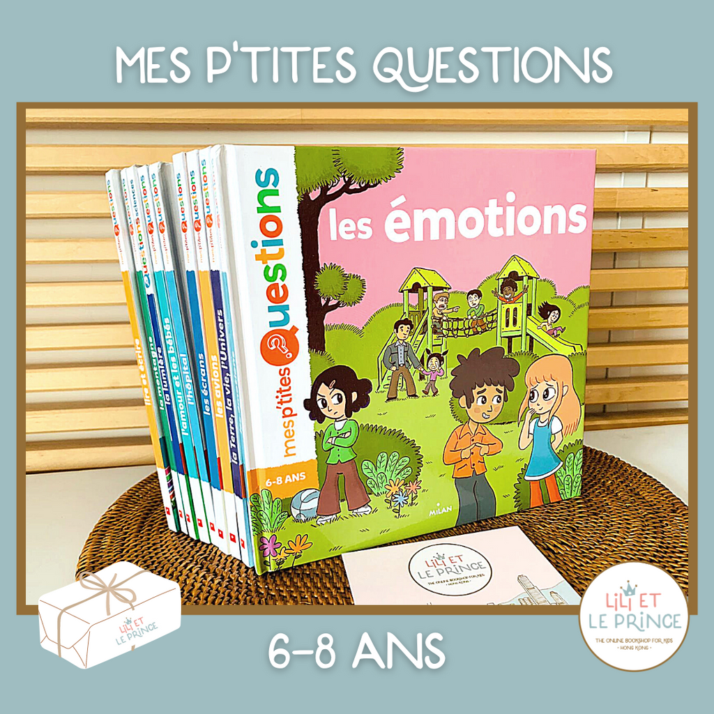 (FRENCH) ABONNEMENT MES P'TITES QUESTIONS 6-8 ans